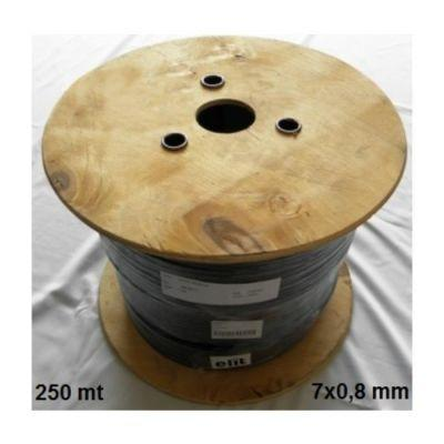 DİĞER - SULAMA KABLOSU 7x0,8 mm BİR MAKARA ( 250 mt )