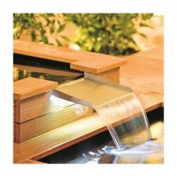 HEISSNER - Süs havuzları İçin Işıklı Şelale Ağzı 30X25