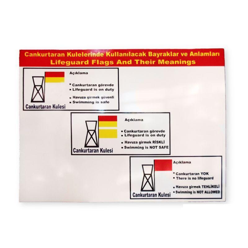 - Uyarı Tabelası (Havuz), Havuz Can Kurtaran Malzemesi