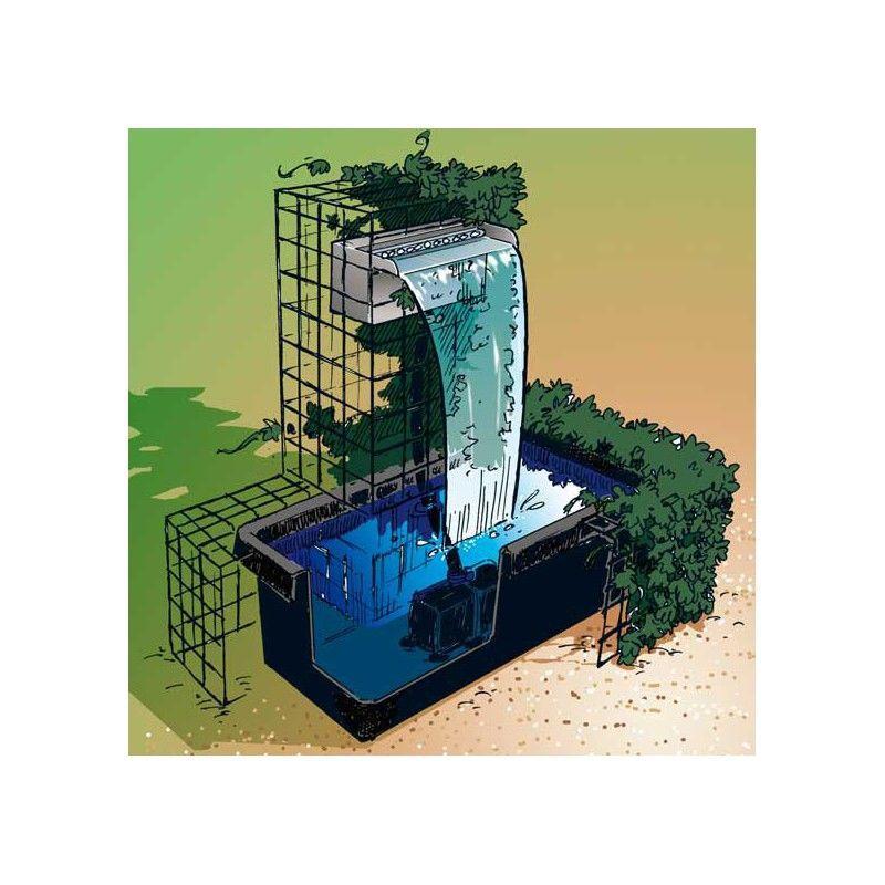 Poolline angel elale set s s havuzu - Comment fabriquer une lame d eau pour bassin ...